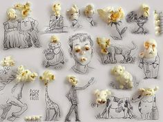 3D Illustrations by Victor Nunes | http://ineedaguide.blogspot.com/2015/02/victor-nunes.html #drawings #illustrations #art