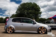 Not sure I love this look, but it's Two of my favorite things! Copper wheels and mkv's!
