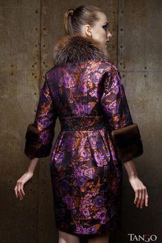 Зимнее пальто ODRI в каталоге мехов Tango