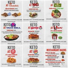 Keto with fast food. Kindof beside the point of Keto, but still there are those times. Keto Fastfood, Keto Restaurant, Keto On The Go, Bo Bun, Eat Better, Keto Meal Plan, Meal Prep, Low Carb Diet, Keto Snacks