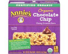 Annie's Homegrown: Organic chocolate chip granola bars