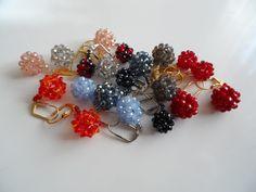 balls Beading Projects, Balls, Stud Earrings, Jewelry, Fashion, Moda, Jewlery, Jewerly, Fashion Styles