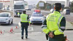 Disparan desde un coche de alta gama a un grupo de agentes de la Guardia Civil en Pinto
