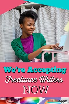 Have you ever wanted to be a freelance writer? You're in luck because we're accepting freelance writers right now. Join our team of motivated achievers if you want to help others through your blog posts. Learn more and apply on our site. Writing Skills, Writing Tips, Starting Your Own Business, Seo Tips, Work From Home Jobs, Online Jobs, Business Opportunities, Way To Make Money, Helping Others
