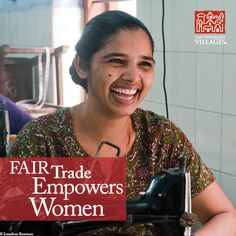 Fair Trade Empowers Women. -  Every year on International Women's Day, St. Mary's invites all 500 women who work with the organization for a day long celebration where they enjoy food, dancing, guest speakers, and an annual gift. Because of fair trade, these women have a greater voice in their homes and communities.