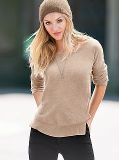 Victoria Secret Fall 2013 love this look nice and comfy for fall  #myvsfalledit