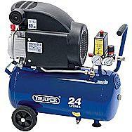 Draper 24980 24 Litre 240 Volt 1.5kW Air Compressor