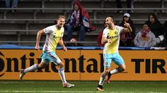 Columbus Crew score late goal to draw with Chicago Fire