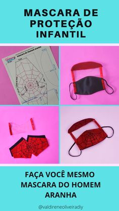 Face Masks For Kids, Easy Face Masks, Diy Face Mask, Full Face Mask, Mouth Mask Design, Mouth Mask Fashion, Sewing To Sell, Sewing Patterns Free, Clothes Patterns