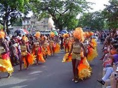 Carnival in Pointe a Pitre, Guadeloupe