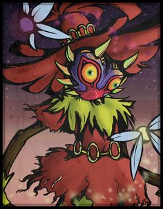 Skull Kid by *Redblazer27 on deviantART