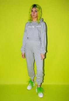 GLOW IN THE DARK EMBROIDERED CO-ORD SET