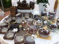 Candy Buffet  in marrone
