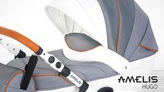 Amelis Hugo - uniwersalny wózek - full review - new collection