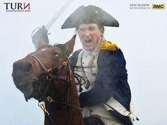 Benedict Arnold in AMCS Turn: Washington's Spies season 2