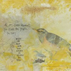 """Dig in, dig deep, and be authentic!"" ~Cherie Haas. Featured: a page of artistic inspiration from Christine Mason Miller's book ""Ordinary Sparkling Moments"" 