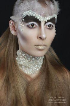 Make-Up Magazine Romania  Fashion & Beauty Photographer - Den Kara Hair Stylist-Bacioi Sergiu Make-up Artist-Sandu Iuliana