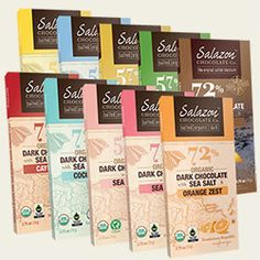 Salazon Salted-Chocolate Sampler (10 bars)