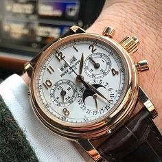 Ref. 5004R #JimmyCosmo's favorite reference | this is Patek Philippe at one of it's finest moment. #PleaseLetMarchBeGreatAgain
