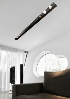 PROLICHT is a manufacturer of architectural premium lighting concepts. Create the perfect room atmosphere with high quality bespoke lighting and discover the world of PROLICHT! Modern Lighting Design, Lighting Concepts, Interior Lighting, Home Lighting, Gypsum Ceiling, Ceiling Spotlights, Ceiling Lights, Recessed Ceiling, Showroom Interior Design