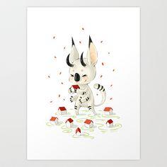 Little Monster Art Print by Freeminds - $18.72