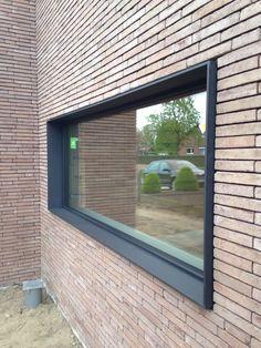 house ideas new Brick Design, Facade Design, Exterior Design, House Design, Facade Architecture, Residential Architecture, Renovation Facade, Window Reveal, Wood Facade