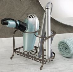A countertop hair accessories holder you can use to make your morning routine more manageable.