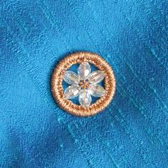 How to make your own  Heirloom Buttons from Threads magazine.