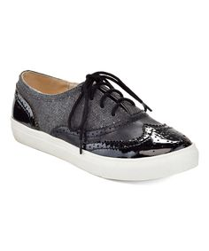 Take a look at this Black Gayle Oxford today! Metallic Oxfords, Oxford Sneakers, Classic Style, My Style, Walk This Way, Keds, Buy Now, Take That, Slip On