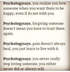 What does psychology say about love