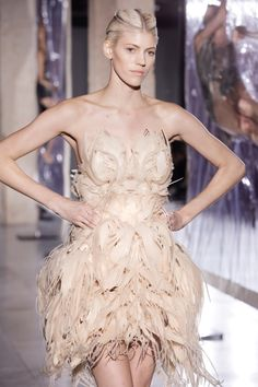 On Tuesday March 4th, Iris van Herpen unveiled her Biopiracy Collection, her most ambitious and largest collection to date, at Les Docks - Cité de la Mode et du Design in Paris.