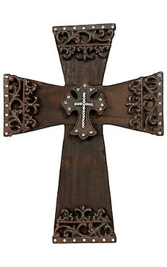 M Western Products® Wood & Iron Wall Cross | Cavender's Boot City