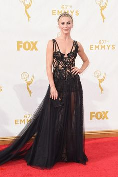 Julianne Hough in Marchesa | All The Looks From The 2015 Emmy Awards