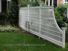 Image result for lattice fence