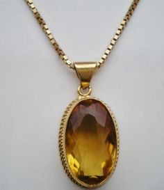 Vintage 9ct Gold Oval Pendant Necklace with Large Citrine & 9ct Gold Chain - 7g Buy it now:  Price:£235.00  http://www.ebay.co.uk/itm/Vintage-9ct-Gold-Oval-Pendant-Necklace-Large-Citrine-9ct-Gold-Chain-7g-/141167504421?pt=UK_Jewellery_Watches_VintageFineJewellery_CA&hash=item20de3d2c25