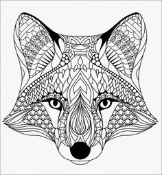 Bring your creativity to life with one of these free 101 printable adult coloring pages. Tons of beautiful options to spend hours getting lost in the world of coloring! Mandalas Painting, Mandalas Drawing, Mandala Coloring Pages, Mandala Art, Fox Coloring Page, Animal Coloring Pages, Free Coloring Pages, Coloring Books, Background Yellow