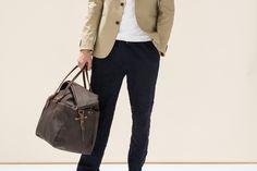 Cabine Travel bag - Brown | Bleu de chauffe