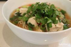 The (in)famous BabyMac chicken noodle soup that is my most requested recipe.