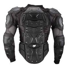 Fox Titan Jacket - Black / Spine View