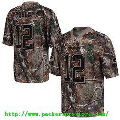 1131c4aeb Nike NFL 12 Green Bay Packers Aaron Rodgers Camo Realtree Elite Men s Jersey  Denver Broncos