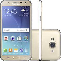 Smartphone Samsung Galaxy J7 Duos Dual Chip Desbloqueado Android 5.1 5.5 16GB 4G 13MP - Dourado