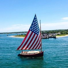 #HowDoYouSummer this boat sailing all over Martha's Vineyard & Nantucket summer 2016