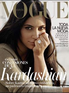 """NATURAL ORDINARY DEEP SUBSTANTIAL NORMAL DOWN-TO-EARTH mrscarter-mrswest: """"Kim Kardashian West for VOGUE """""""