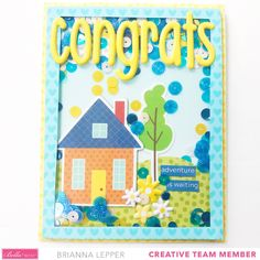 Besties, Sweet Home, Card Making, Create, Cards, House Beautiful, Maps, Handmade Cards, Playing Cards