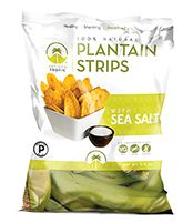 Artisan Tropic Plantain Strips with Sea Salt - Your Tasty and Healthy Snack Alternative - Paleo, Gluten Free, Vegan, Non-GMO - Made With Sustainable Palm Oil Oz Pack) Healthy Vegan Snacks, Gluten Free Snacks, Gourmet Recipes, Low Carb Recipes, Snack Recipes, Easy Recipes, Whole 30 Approved Foods, Whole 30 Snacks, Chips Brands