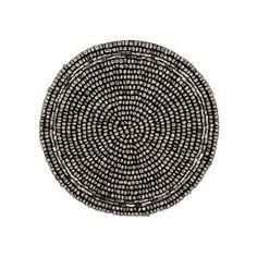 Thé Coaster argent perles napperon Accueil décorations indiennes, Set de quatre: Amazon.fr: Cuisine & Maison