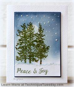 Peace Joy Card