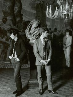 The Dandies of Swinging London: Julian Ormsby-Gore, Christopher Gibbs, and Nicholas Gormanston, in 1965.