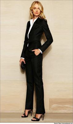 The Working Diva – Wear this perfect chic suit to #suit the mood of a serious business meeting.