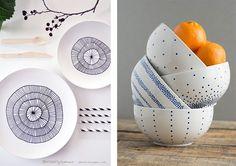DIY pintar porcelana en casa. Muchas ideas y tutoriales para inspirarse                                                                                                                                                                                 Más